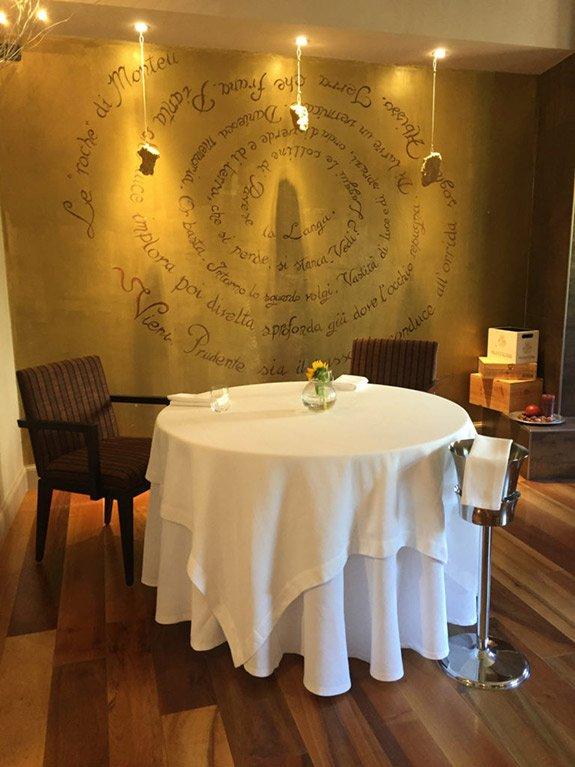 ristorante romantico roero