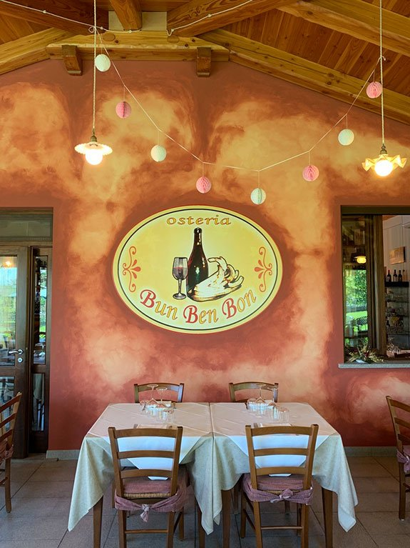 Osteria Bun Ben Bon Nizza Monferrato
