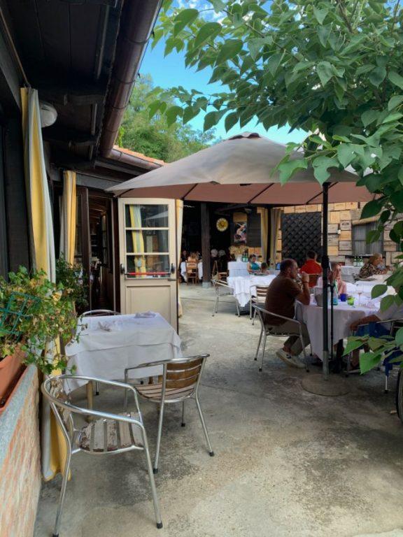 ristorante del belbo da bardon dehors